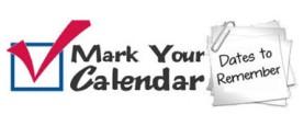 mark calendar gray